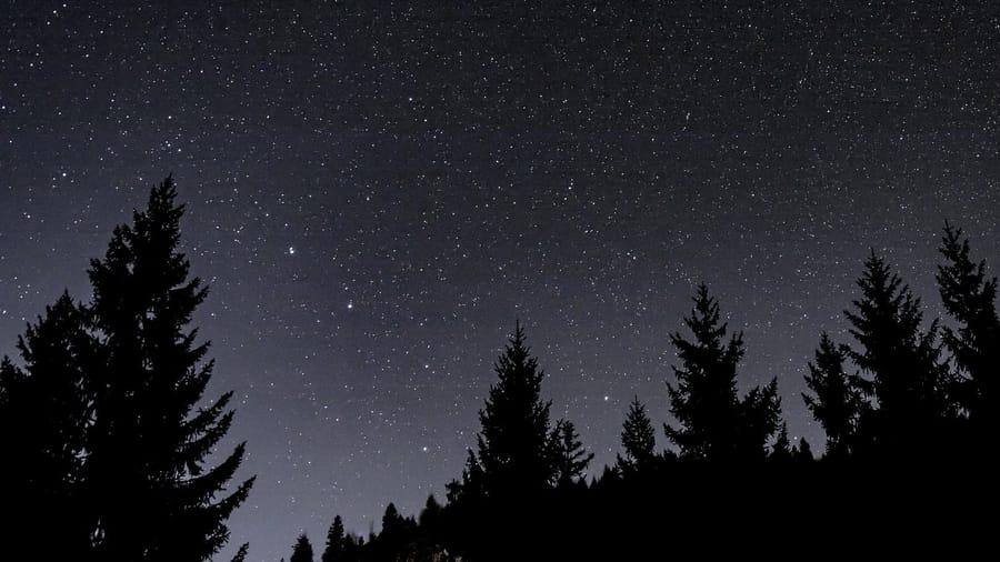 Astronomie Nachthimmel