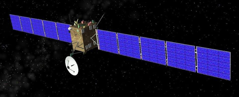 Rosetta mission zum komet