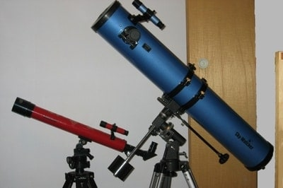 zwei Teleskope welches nehmen