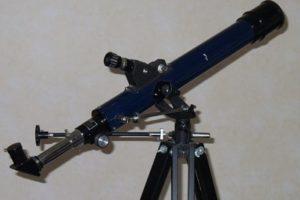 Teleskop oder Fernglas