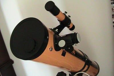 wie reinigt man ein Teleskop