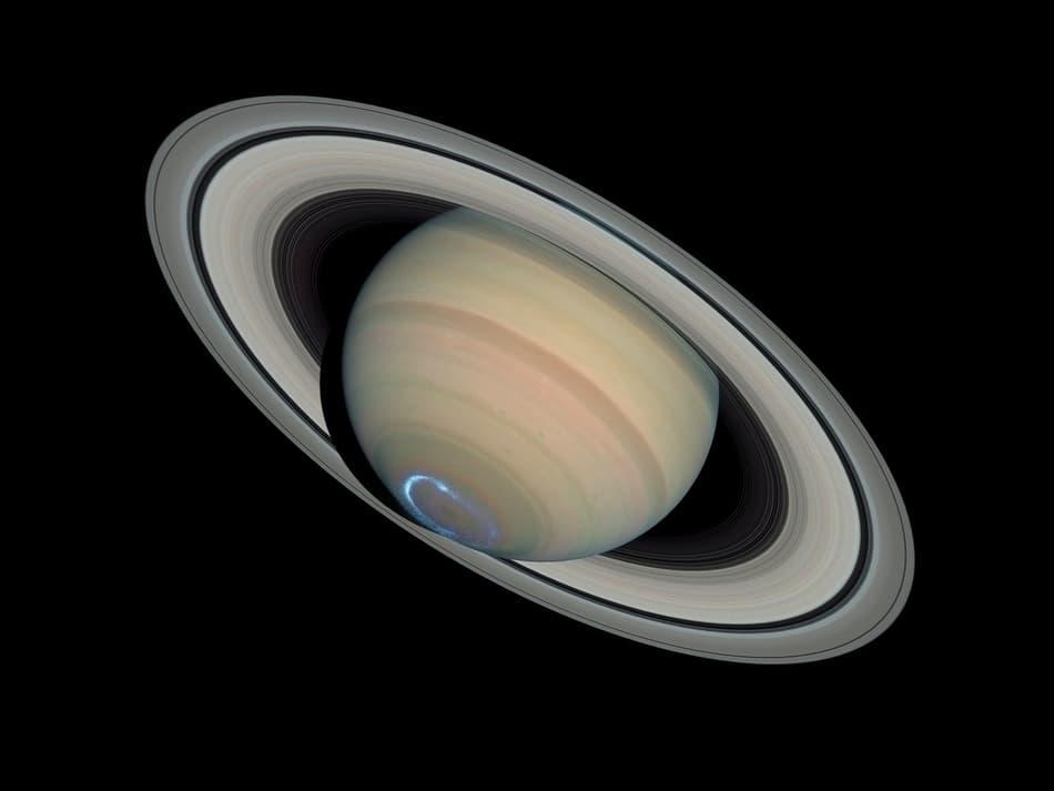 wie sind die Saturn ringe enstanden